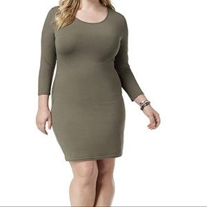 Say What? Women bodycon stretch dress size XL